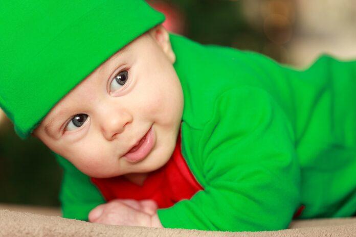 Домашняя детская фотосессия на Рождество – как сделать удачное фото?