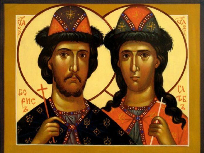 15 мая – День Святых Бориса и Глеба