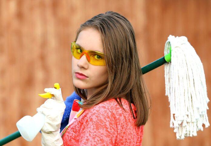 Профессиональная уборка квартиры – лучший подарок жене на Новый год